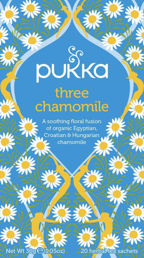 Three Chamomile te – øko