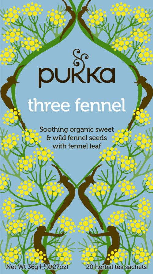 Three Fennel te – øko