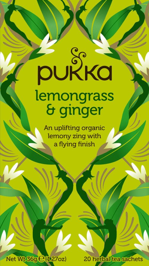 Lemongrass & Ginger te – øko