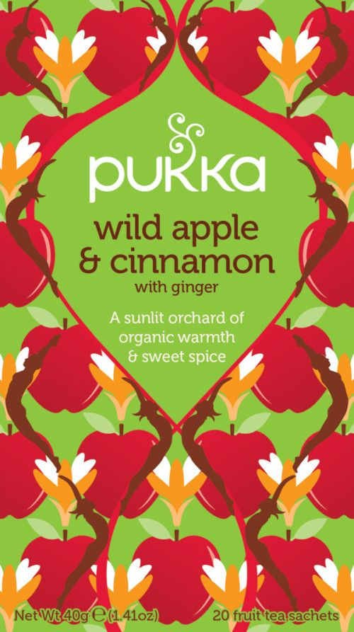 Wild Apple & Cinnamon te - øko