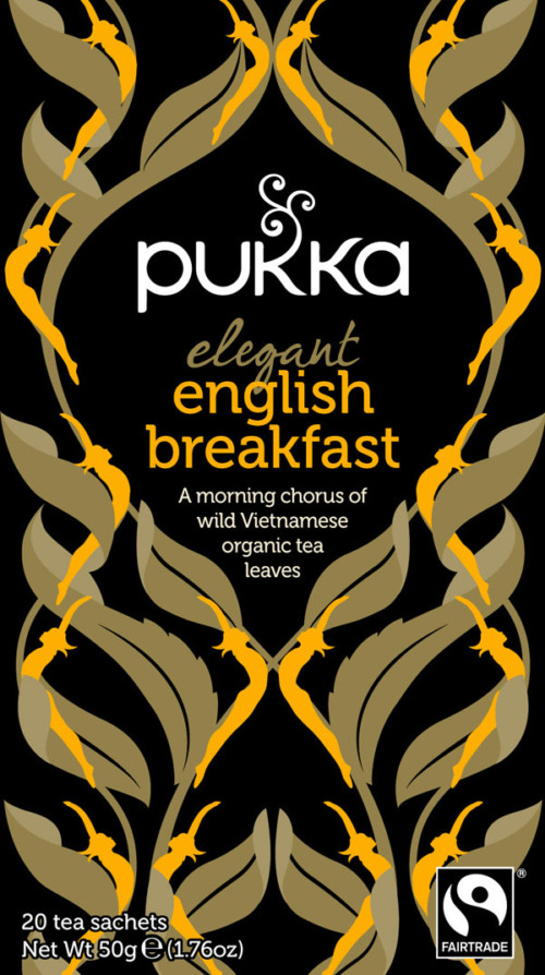 Sort te - Elegant English Breakfast øko/FT 50 g.