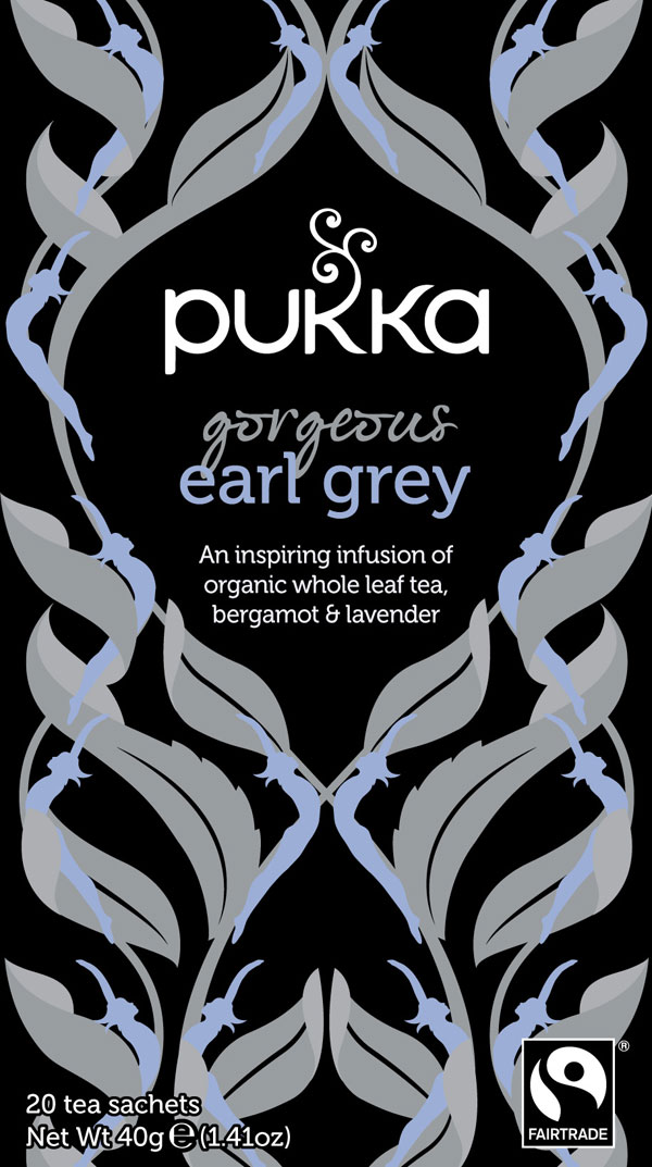 Sort te - Gorgeous Earl Grey te øko/FT – 40 g.